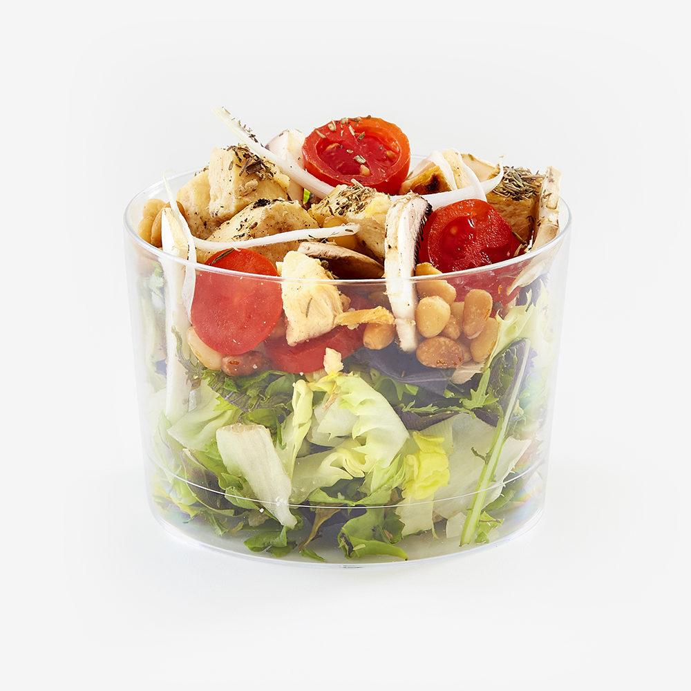 4 Mini ensaladas en caja