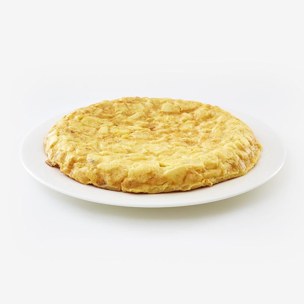Tortilla de patata y cebolla