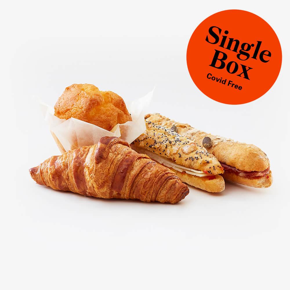 Single selection breakfast box