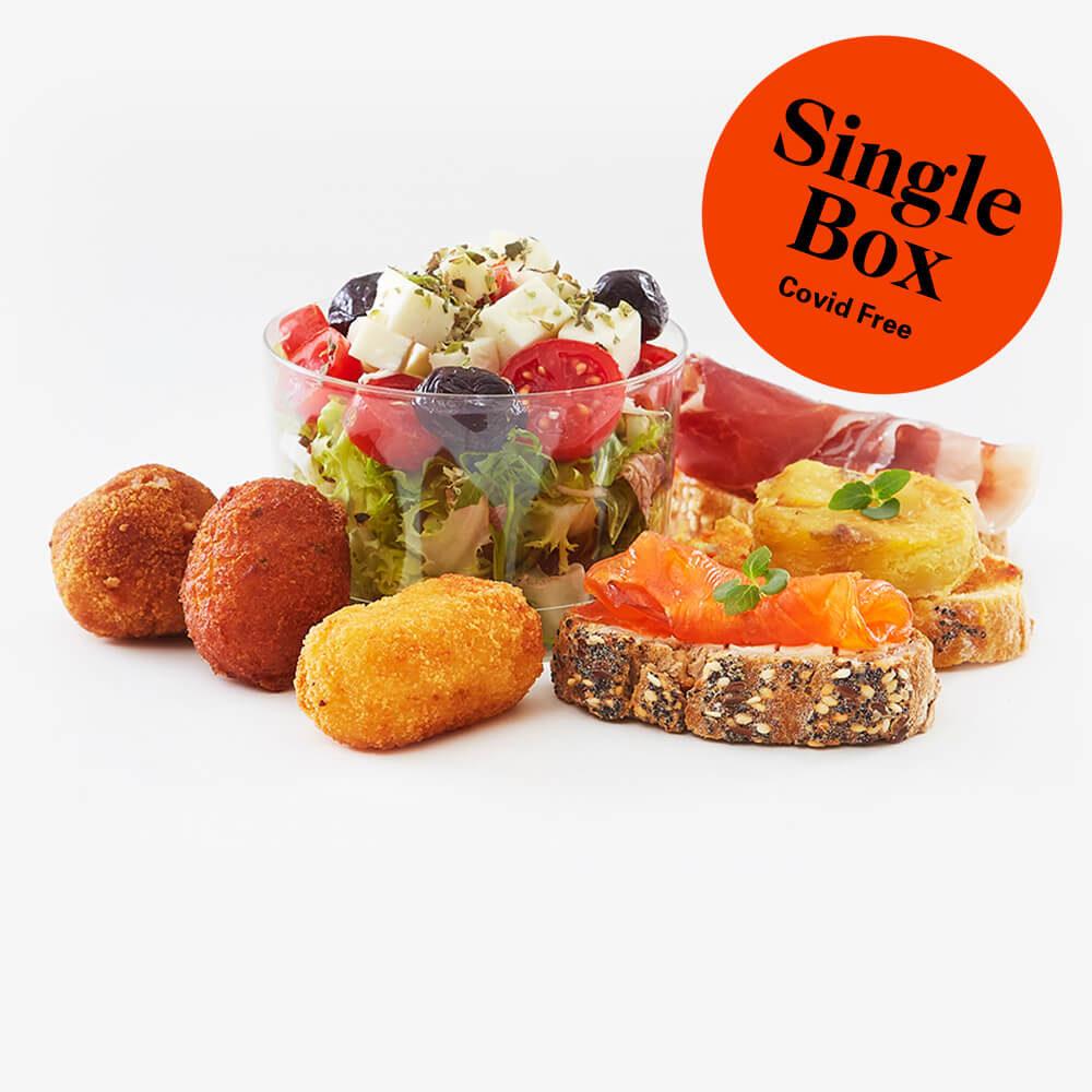 Single gourmet lunch box