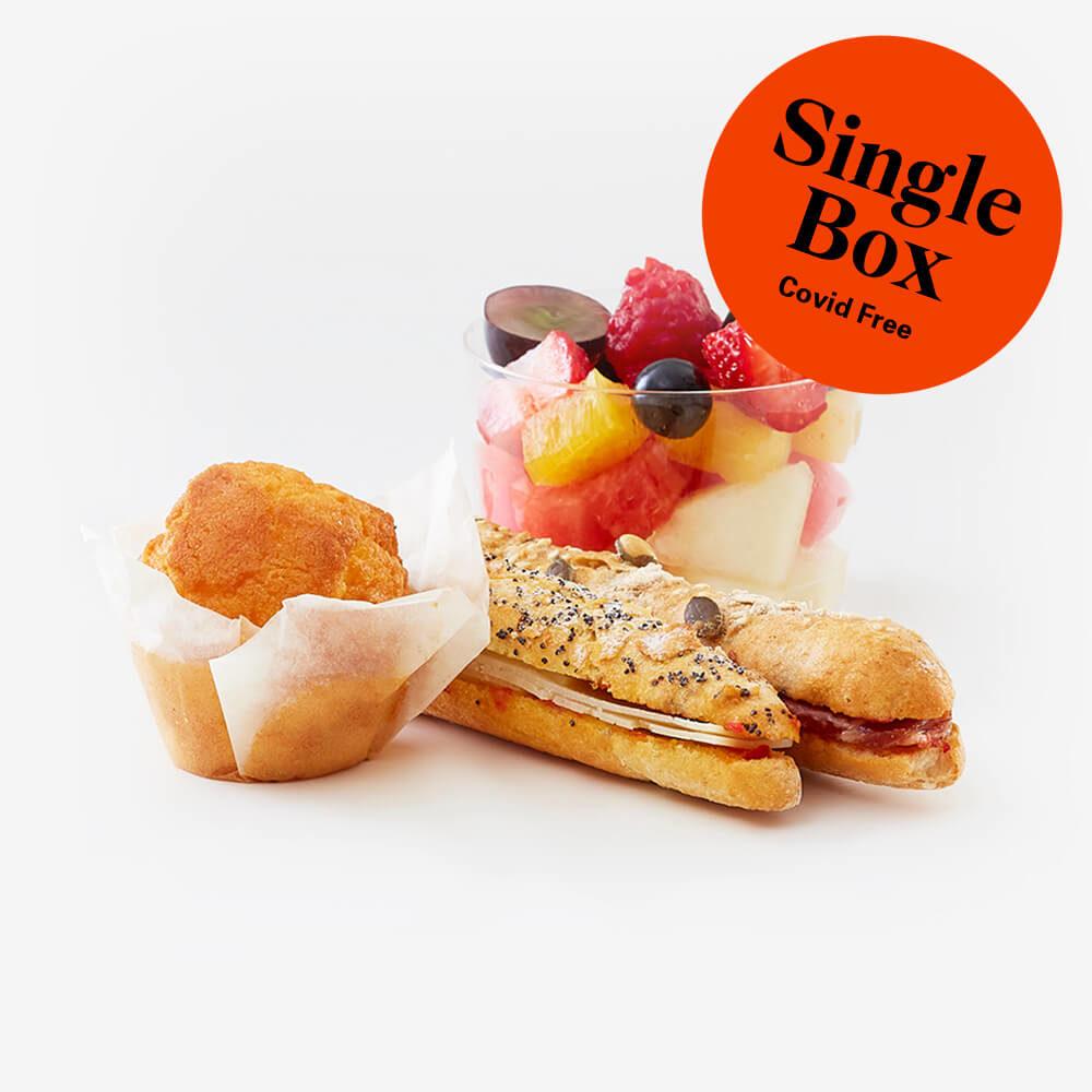 Single healthy breakfast box
