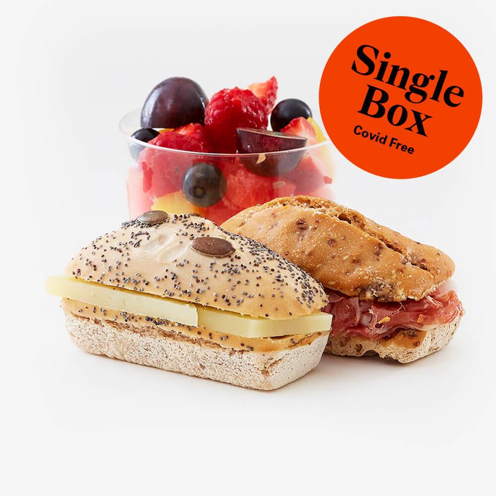 Single gluten free breakfast box