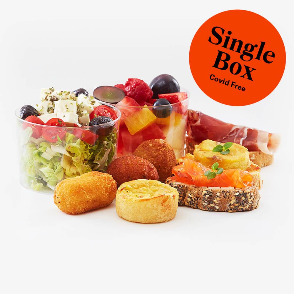 Single full gourmet lunch box