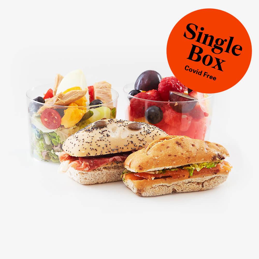 Single gluten free lunch box